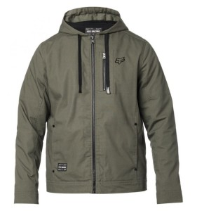 GEACA FOX MERCER JACKET OLV GREEN