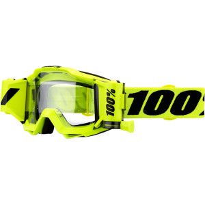 Ochelari 100% Accuri Forecast Black/Fluorescent Yellow - lentila clara
