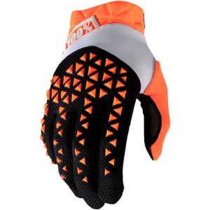 Manusi 100% Airmatic Black/Orange