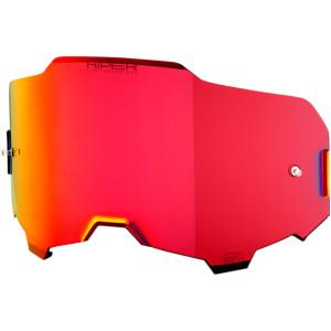 Lentila ochelari 100% Armega Hiper Mirror/Red