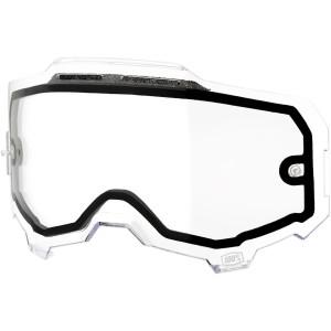 Lentila ochelari 100% Armega Dual Vented Clear
