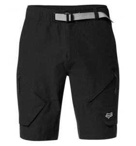 PANTALONI SCURTI FOX ALPHA CARGO BLACK