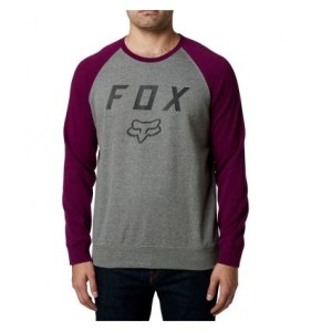 BLUZA FOX LEGACY CREW FLEECE GRAY