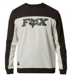 BLUZA FOX MILLER CREW FLEECE BLACK