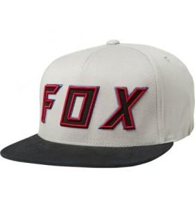 SAPCA FOX POSESSED SNAPBACK LIGHT GRAY