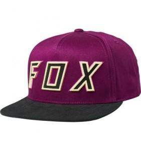 SAPCA FOX POSESSED SNAPBACK DARK PURPLE