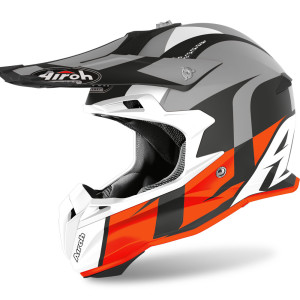 Casca AIROH Terminator HANGER Orange Matt