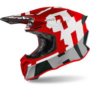 Casca AIROH Twist 2.0 FRAME Red Matt