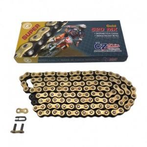 Lant transmisie CZ 520 MX Gold Super 118 zale