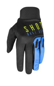 Manusi Shot 2020 Aerolite Alpha Blue Neon Yellow