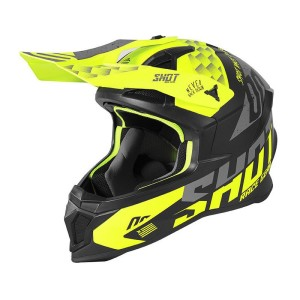 Casca Shot 2020 Lite Rush Neon Yellow Grey