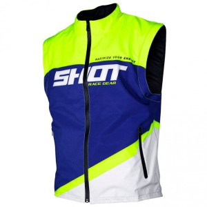 Vesta Shot 2020 Bodywarmer Lite Blue Neon Yellow