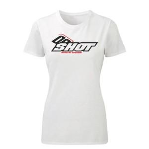 Tricou Shot Woman Alb Team Logo