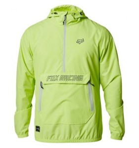 GEACA FOX SAVAGE ANORAK LIME
