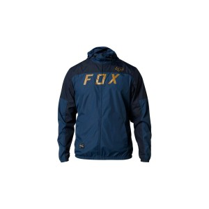 GEACA FOX MOTH WINDBREAKER BLUE