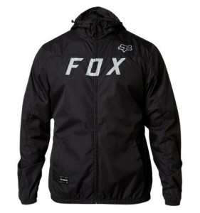 GEACA FOX MOTH WINDBREAKER BLACK