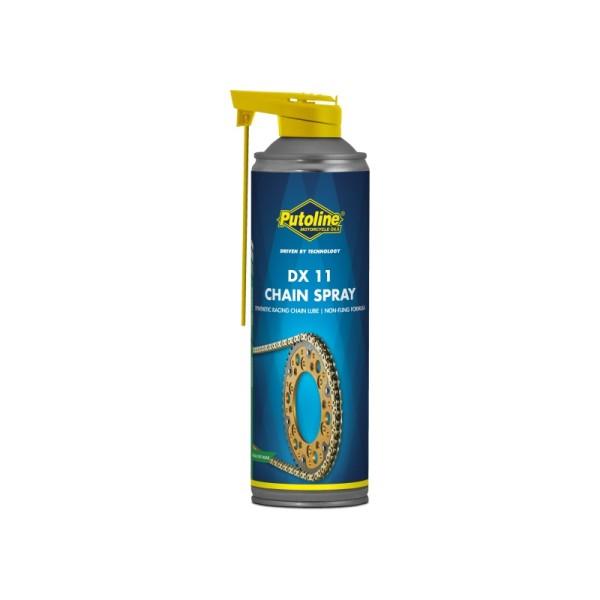 Lubrifiant Putoline DX 11 CHAINSPRAY 500ml