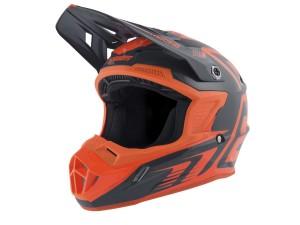 Casca ANSWER AR1 Edge Charcoal/Neon Orange