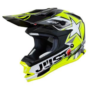 Casca JUST1 J32 Moto X Yellow