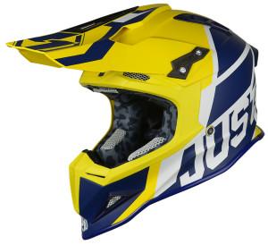 Casca JUST1 J12 Unit Blue/Yellow