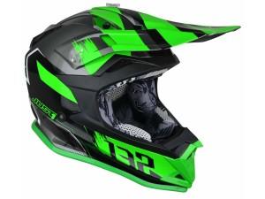 Casca JUST1 J32 Pro Kick Green/White/Titanium