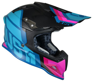 Casca JUST1 J12 Unit Blue/Pink