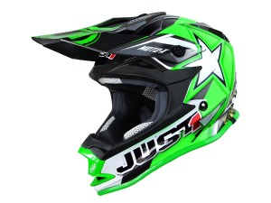 Casca JUST1 J32 Moto X Green