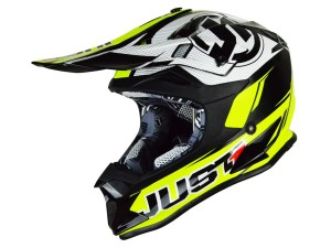 Casca JUST1 J32 Pro Rave Black/Neon Yellow