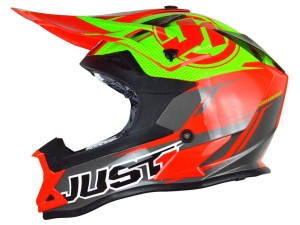 Casca JUST1 J32 Pro Rave Red/Lime