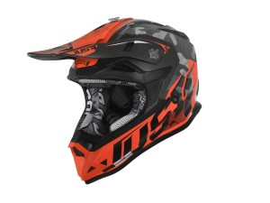 Casca JUST1 J32 Pro Swat Camo Fluo Orange Gloss