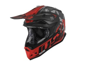 Casca JUST1 J32 Pro Swat Camo Fluo Red Matt