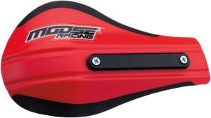Plastice handguard Moose Racing contour 2 Rosu