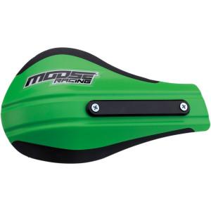 Plastice handguard Moose Racing contour 2 Verde