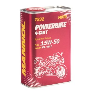 ULEI 4T MANNOL MOTO POWERBIKE 4T SYNTHETIC 15W-50 1L