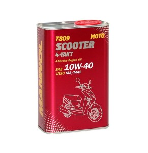ULEI 4T Mannol SCOOTER 10W-40 SEMI SYNTHETIC 1L