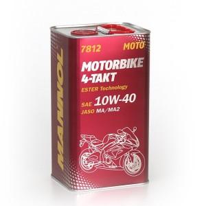 ULEI 4t Mannol MOTORBIKE ESTER TECHNOLOGY 10W-40 4L