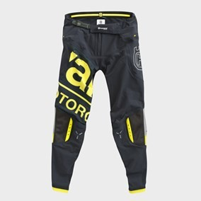 PANTALONI HUSQVARNA RAILED YELLOW/GRAY
