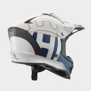 CASCA COPII HUSQVARNA RAILED WHITE