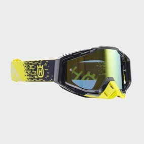 OCHELARI HUSQVARNA RACECRAFT YELLOW/BLUE