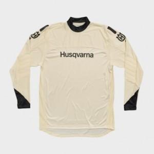 TRICOU HUSQVARNA ORIGIN WHITE