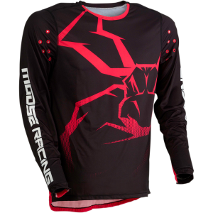 Tricou Moose Racing AGROID Rosu/Negru