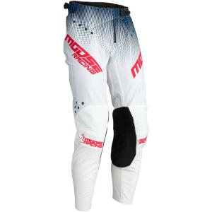 Pantaloni  Moose Racing AGROID Alb/Navy