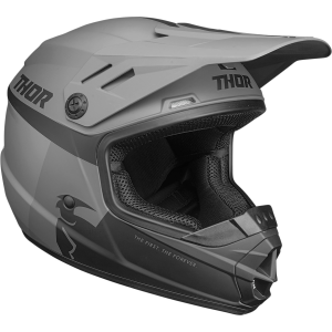Casca copii Thor  Sector Racer Negru/Charcoal