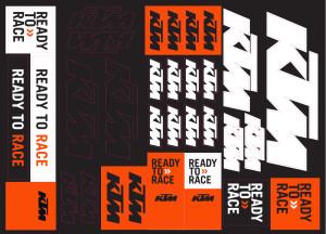 Kit stickere KTM Corporate