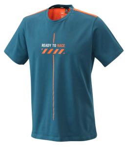 Tricou KTM Pure Style Blue