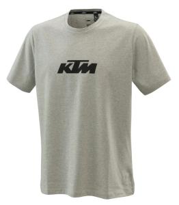 Tricou KTM Pure Logo Grey