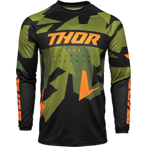 Tricou Thor Sector Warship Green-Orange