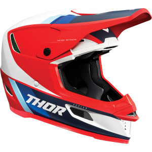 Casca Thor Reflex Apex Red/White/Blue