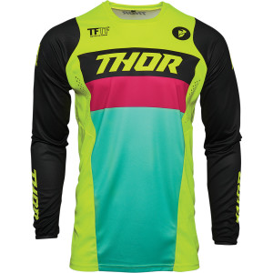 Tricou Thor Pulse Racer Acid/Black
