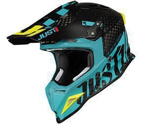 Casca JUST1 J12 PRO Racer Blue-Carbon